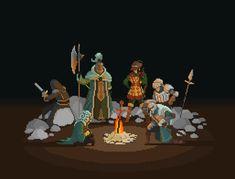 Pixel Dark Souls 2.