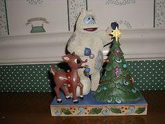 RUDOLPH/JIM SHORE-BUMBLE & RUDOLPH FIGURINE-NEW IN BOX-2014 - http://collectiblefigurines.net/enesco/jim-shore/rudolph-traditions/rudolphjim-shore-bumble-rudolph-figurine-new-in-box-2014-2/ - #2014, #Box, #Bumble, #Figurine, #Jim, #New, #Rudolph, #Shore
