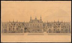 Titel   Schloss Bellevue, Berlin. Erweiterung | Raschdorff, Julius  Schloss…