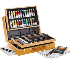 Buy YXSH Starter Art Boxed Set - 80 Pieces at Argos.co.uk - Your Online Shop for Art sets and accessories, Art and crafts, Hobbies and crafts, Sports and leisure.