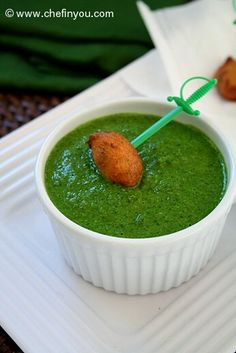 Coriander Chutney Recipe |  Cilantro Chutney Recipe | Indian Chutney Recipes... One of the simplest yet essential recipes that's a must to have in your repertoire is chutney. It can transform a main course, a snack, a party, a theme - just name it and you can throw in a chutney in there. This quick recipe for Coriander (cilantro) Peanut chutney is that and more.