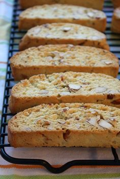 Almond Biscotti - no Kitchenaid in the directions! Fantastic..
