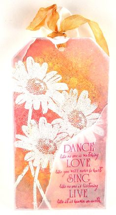 Suzz's Stamping Spot: Everything is coming up Daisies!