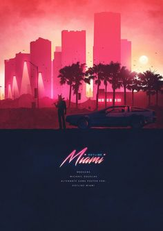 Vaporwave Room: Hotline Miami Posters - Created by Michael Douglas You can check out more of his work on Poster Spy. Retro Kunst, Retro Art, Vaporwave, Bad Trip, 80s Design, Design Trends, Creative Design, Wallpaper Animes, Neon Noir