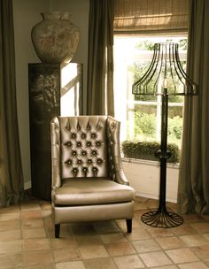 By Cherny Wingback Chair, Accent Chairs, Furniture, Home Decor, Upholstered Chairs, Decoration Home, Room Decor, Wing Chairs, Wingback Chairs