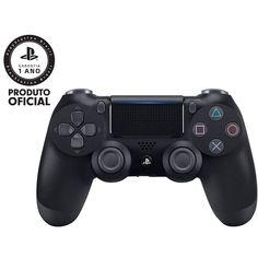 Controle Dualshock - PlayStation 4 - Preto para jogar todos os games mais  irados 6bba8739246