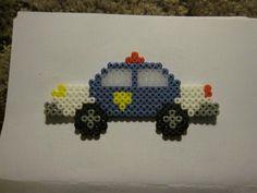 Police car perler beads by Timothy M. - Perler®   Gallery