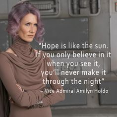 The Last Jedi Quotes - Amilyn Holdo