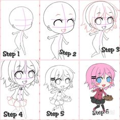 Image uploaded by Relly Yumii. Find images and videos about cute, manga and chibi on We Heart It - the app to get lost in what you love. Chibi Hair, Teaching Art, Drawing Reference, Kawaii, Manga, Comics, Drawings, Anime, Fictional Characters