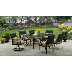 Better Homes and Gardens Englewood Heights II Aluminum 7pc Dining Set  $799.00 02/15/16