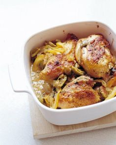 Lemon and Olive Chicken Recipe