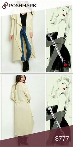 Coming soon! Chic Cream Duster Brand new Will be $45  Grab this chic cream duster to wear over any of your outfits. Pair with a top and leggings or over your favorite mini dress.  Also available in black Jackets & Coats
