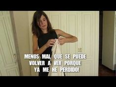 Cómo ponerse un chal / How to wear a shawl 2 - YouTube