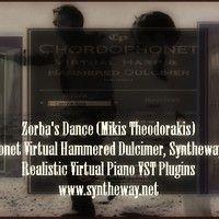Zorba's Dance (Mikis Theodorakis) Chordophonet Virtual Hammered Dulcimer, Syntheway Strings, Piano by syntheway on SoundCloud  #ZorbasDance #MikisTheodorakis #Chordophonet #VirtualHammeredDulcimer #Syntheway #Strings #VirtualPiano #VSTi #VSTPlugins #Zorbas #ArmenohorianosSyrtos #KritikoSyrtaki #ZorbaTheGreek #GiorgisKoutsourelis