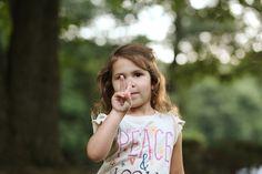 Peace, Child Photography, ©Misty Exnicios