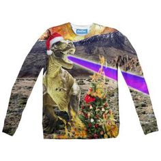 """""""The Christmas Dino knows when you've been bad or good"""" Youth, Sweaters, Christmas, Yule, Xmas, Pullover, Young Man, Sweater, Christmas Movies"""
