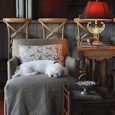 """Feelin cozy in this Hearth Room in Carolina @allisonmorganphotography #lodgechic #familyroom #curlupandread #leeindustries #waterfallskirt #kerryjoyce"" Cozy Reading Corners, Sleeping Puppies, Town And Country, Reading Room, Club Chairs, Hearth, Family Room, Living Room, Furniture"