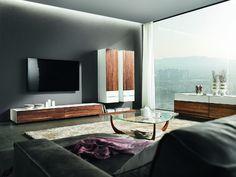 Cubus Pure moderní dřevěná obývací sestava