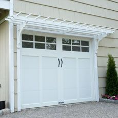 What about a pergola above the back door on my garage? Or above the grill deck?