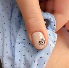 What manicure for what kind of nails? - My Nails Love Nails, Pink Nails, Pretty Nails, My Nails, Shellac Nails, Nail Manicure, Acrylic Nails, Minimalist Nails, Ongles Beiges