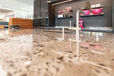 Die Moderne Küche, und das Farbspiel in der Nah-Ansicht. Custom Kitchens, New Kitchen, Kitchen Contemporary, Home Kitchens