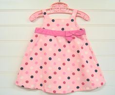 Vintage+Baby+Clothes+Baby+Girl+Dress+In+Pink+by+OnceUponADaizy,+$14.00