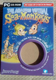 TwoHeadedThingies Apathetic Amphibian SeaMonkeys