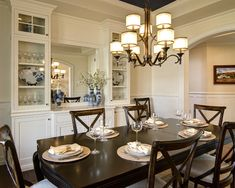 Dream Dining Room Absolutely Love A Round Table Great For Conversation And There Is Always To Squeeze In One More Guest