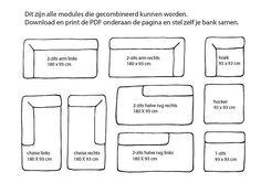 whkmp's OWN Town 1-zitsbank Town? Bestel nu bij wehkamp.nl