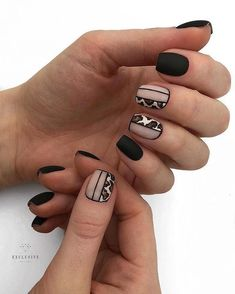 Give fashion to your fingernails with nail art designs. Donned by fashion-forward personalities, these types of nail designs can add instantaneous allure to your apparel. Hot Nails, Hair And Nails, Nail Art Designs, Great Nails, Nagel Gel, Gorgeous Nails, Nail Manicure, Winter Nails, Nails Inspiration