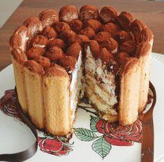 Tort Tiramisu - Rețete Papa Bun Winter Sangria, Food Cakes, Cake Recipes, Deserts, Baking, Ethnic Recipes, Puding Cake, Fried Apples, Recipes With Chicken