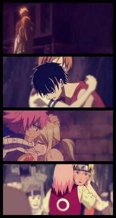 Anime Pairings: Bleach, One piece, Fairy tail, Naruto
