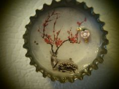 Deer Blossom by EppyCaps on Etsy   i love this one i did! for sale! check 'em out!