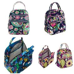 Vera Bradley Lunch Bunch-NWT-5+ color choices. Starting at $19