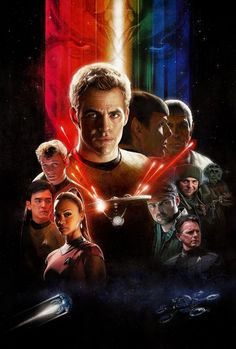 New Star Trek, 1980s style poster art