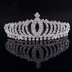 Wedding Bridal Crown Tiara //Price: $3.71 & FREE Shipping //     #fashionjewelry
