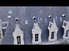 Inspection de toitures par drone