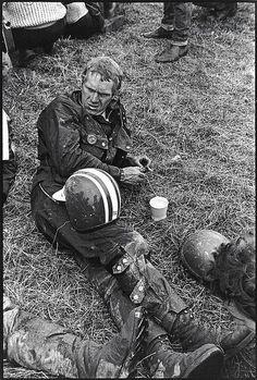 Steve McQueen at International Six Days Trial - 1964 - Erfurt - East Germany