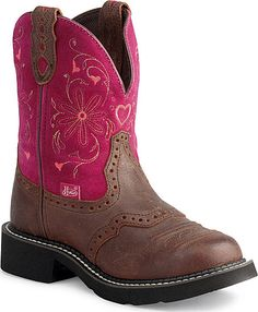 Justin Gypsy Cowgirl Heart Cowboy Boots