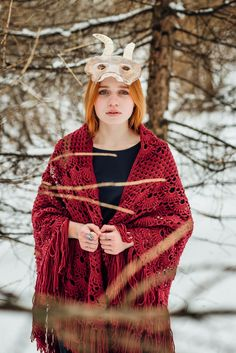 По ту сторону реки  marinakozinaki.com    christmas, yule, joll, pagan, fairy-tale, russian fairy-tale, koleda