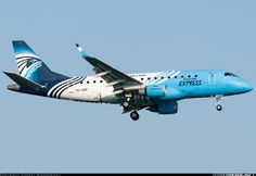 Embraer ERJ-170-100LR Quite the paintjob on this EgyptAir Express