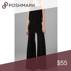 Sydney Jumpsuit Soft cotton cozy strapless black jumpsuit by Young Fabulous and Broke! So cozy to travel in and perfect for lounging or dressing up! Such an essential. No holes or stains in brand new condition worn one time!! Young Fabulous & Broke Pants Jumpsuits & Rompers