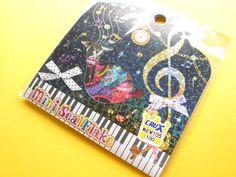 Kawaii Cute Sticker Flakes Sack Music Crux (75388)