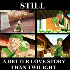 Cabbage Man... better love story than Twilight