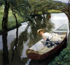 Leo Putz - In The Boat