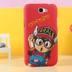 This distinctive and fashionable Dr.Slump-Arale case for Samsung Galaxy Note 2 provides excellent protection as well as eye catching for your important Samsung Galaxy Note 2 II. Great for gifts!