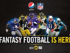 "Enter the Pepsi and Buffalo Wild Wings ""Fantasy Football"" Sweepstakes for a chance to win a 2-night trip for twelve to New York, NY!"