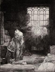 Rembrandt Harmensz.  van Rijn: Faust