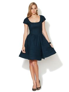 OH Zac Posen, you got it right. Drool. This dress makes me feel like a kid with my face smushed up against the glass storefront, coveting something I know I can't have! Wool Ribbed Skirt A-Line Dress by Zac Posen on Gilt.com