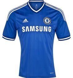 Chelsea FC Home Strip 2013-14 Adidas Soccer Shirts 7c1f47b54